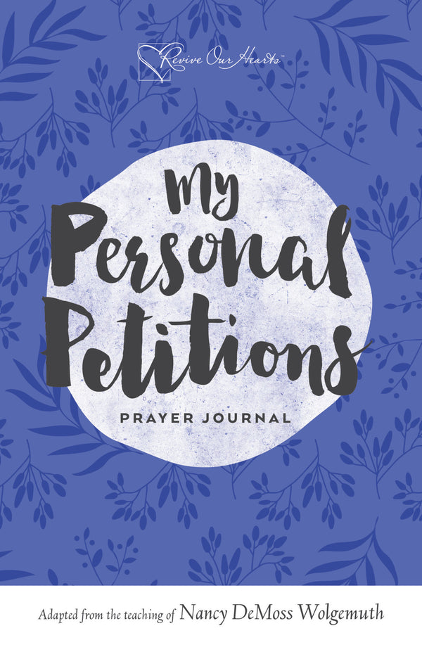 My Personal Petitions Prayer Journal (Booklet)