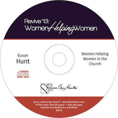 Revive 13: Women Helping Women in the Church by Susan Hunt (CD)