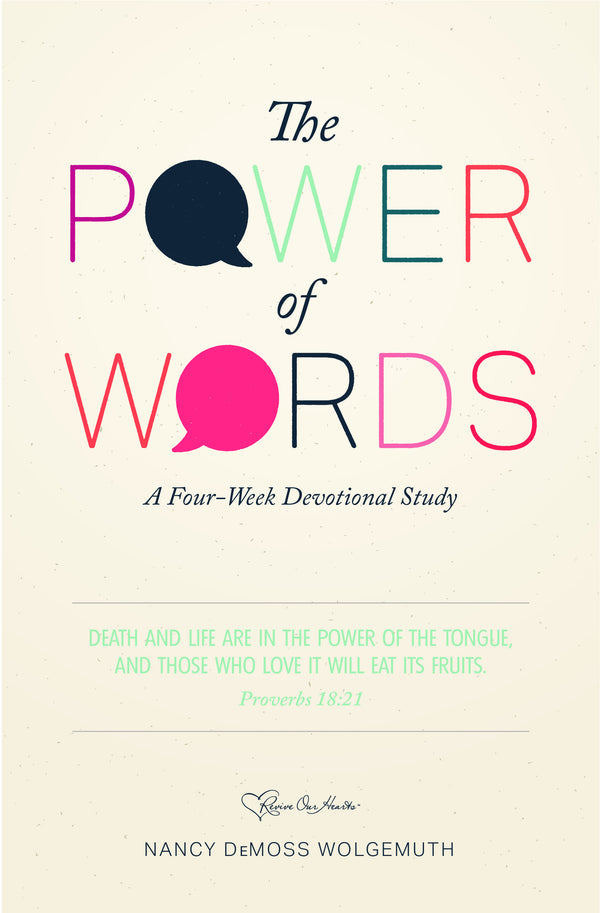 The Power of Words (Booklet)