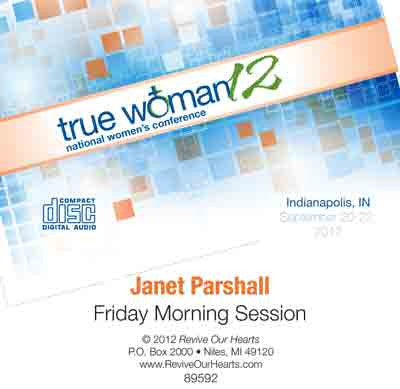 True Woman 12: The Woman at the Well by Janet Parshall (CD)