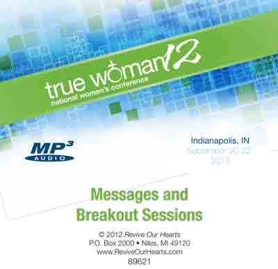 True Woman 12: Conference MP3CD Set