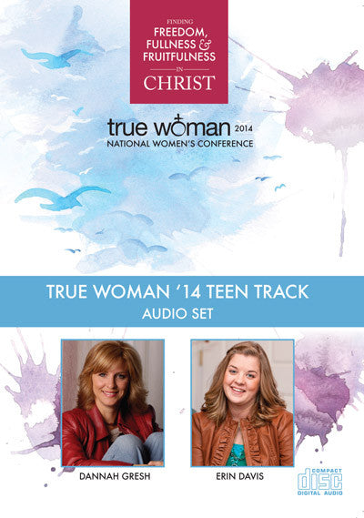 True Woman 14: Teen Track CD Set