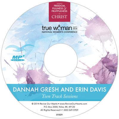 True Woman 14: Teen Track MP3CD Set