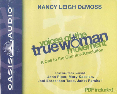 Voices of the True Woman Movement (Audio Book CD)
