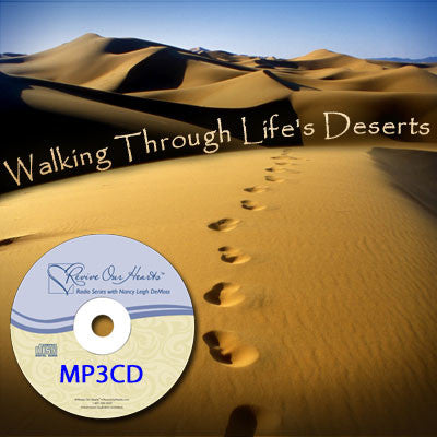 Walking Through Life's Deserts (MP3CD)