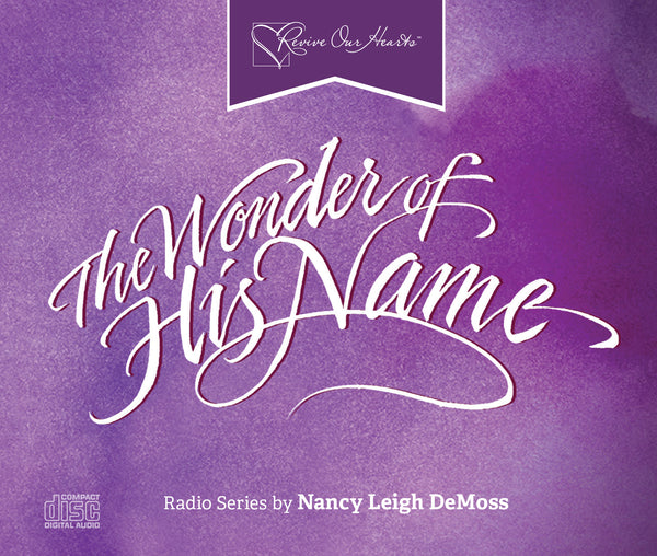 The Wonder of His Name (CDs)