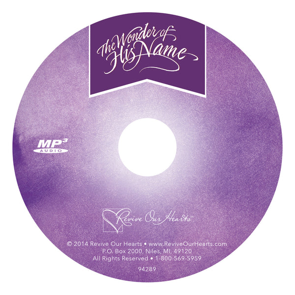The Wonder of His Name (MP3CD)