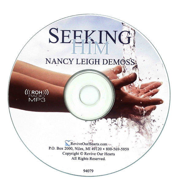 Seeking Him (MP3CD)