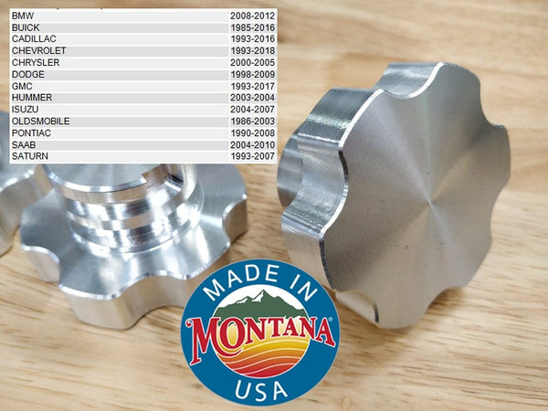 2001-2016 Duramax Billet Oil Fill Cap
