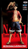 Figurine BANPRESTO ONE PIECE DAY Monkey D Luffy MEMORY FIGURE MASTERLISE n.01 - produits du Japon - BHTK