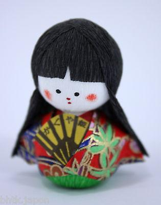 起き上がり小法師 Okiagari Koboshi - Figurine papier maché KAGUYAHIME - Made in Japan