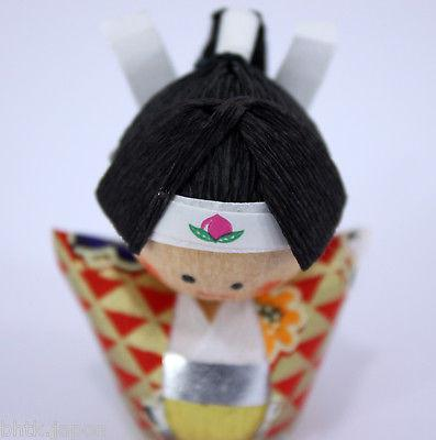 起き上がり小法師 Okiagari Koboshi - Figurine papier maché MOMOTARO - Made in Japan