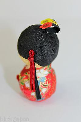 起き上がり小法師 Okiagari Koboshi - Figurine papier maché OHIME Princesse - Made in Japan - produits du Japon - BHTK