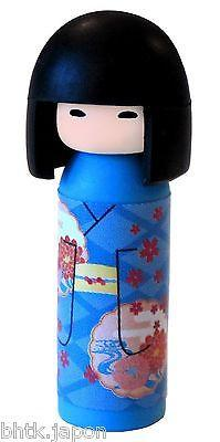 消しゴム Gomme Iwako - Kokeshi bleue - Made in Japan
