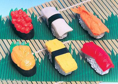 消しゴム Gomme Iwako - Sushi - Made in Japan - produits du Japon - BHTK