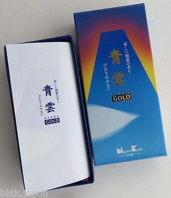 Encens Japonais Seiun GOLD 220 Quality collection - produits du Japon - BHTK