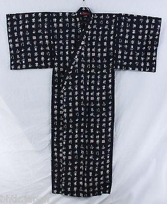 浴衣 Yukata japonais traditionnel XL - Kanji - MADE IN JAPAN - produits du Japon - BHTK