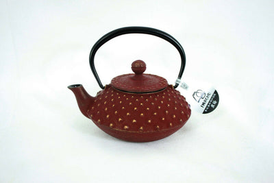 急須 Kyuusu - Théière fonte Iwachu 0,3 l MARRON & OR Made in Japan - produits du Japon - BHTK