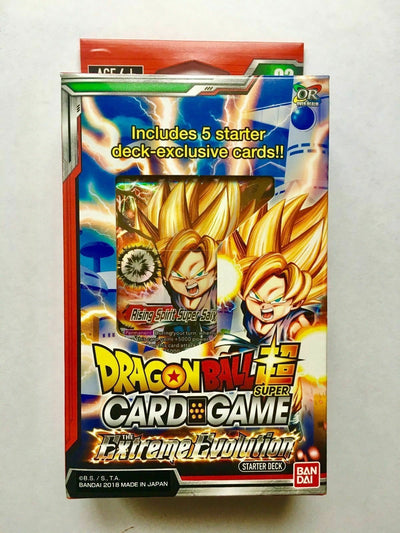 DRAGON BALL SUPER CARD GAME STARTER DECK The Extreme Evolution SD02 English version - produits du Japon - BHTK