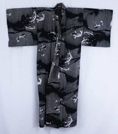 浴衣 Yukata japonais traditionnel - Carpes Koi (M/L) MADE IN JAPAN - produits du Japon - BHTK