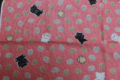 風呂敷 FUROSHIKI - Made in Japan - Manekineko Lucky