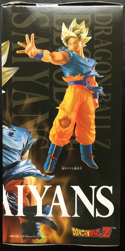 Figurine SON GOKU Sangoku Super Saiyan DRAGON BALL Z Blood of Saiyans BANPRESTO - produits du Japon - BHTK