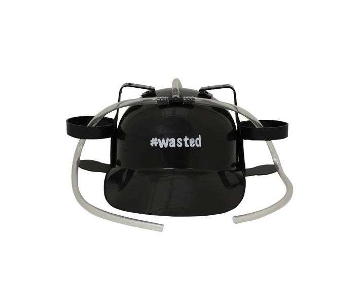 #Wasted Drinking Hat