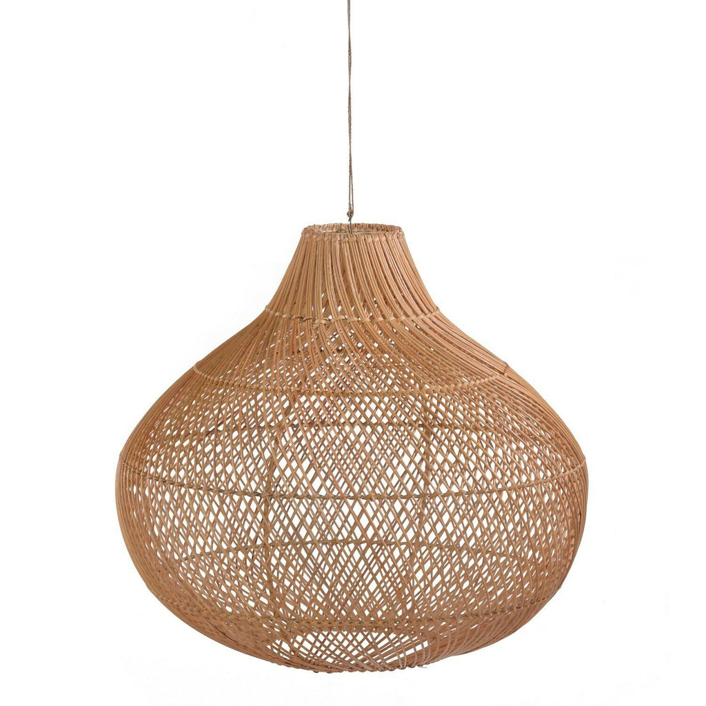 Dome woven light fitting