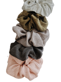 Scrunchie - washed linen