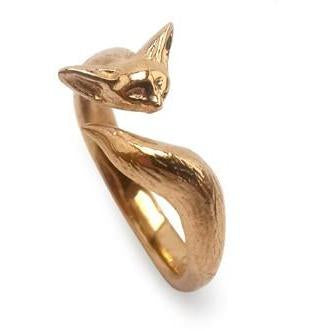 Fennec ring bronze