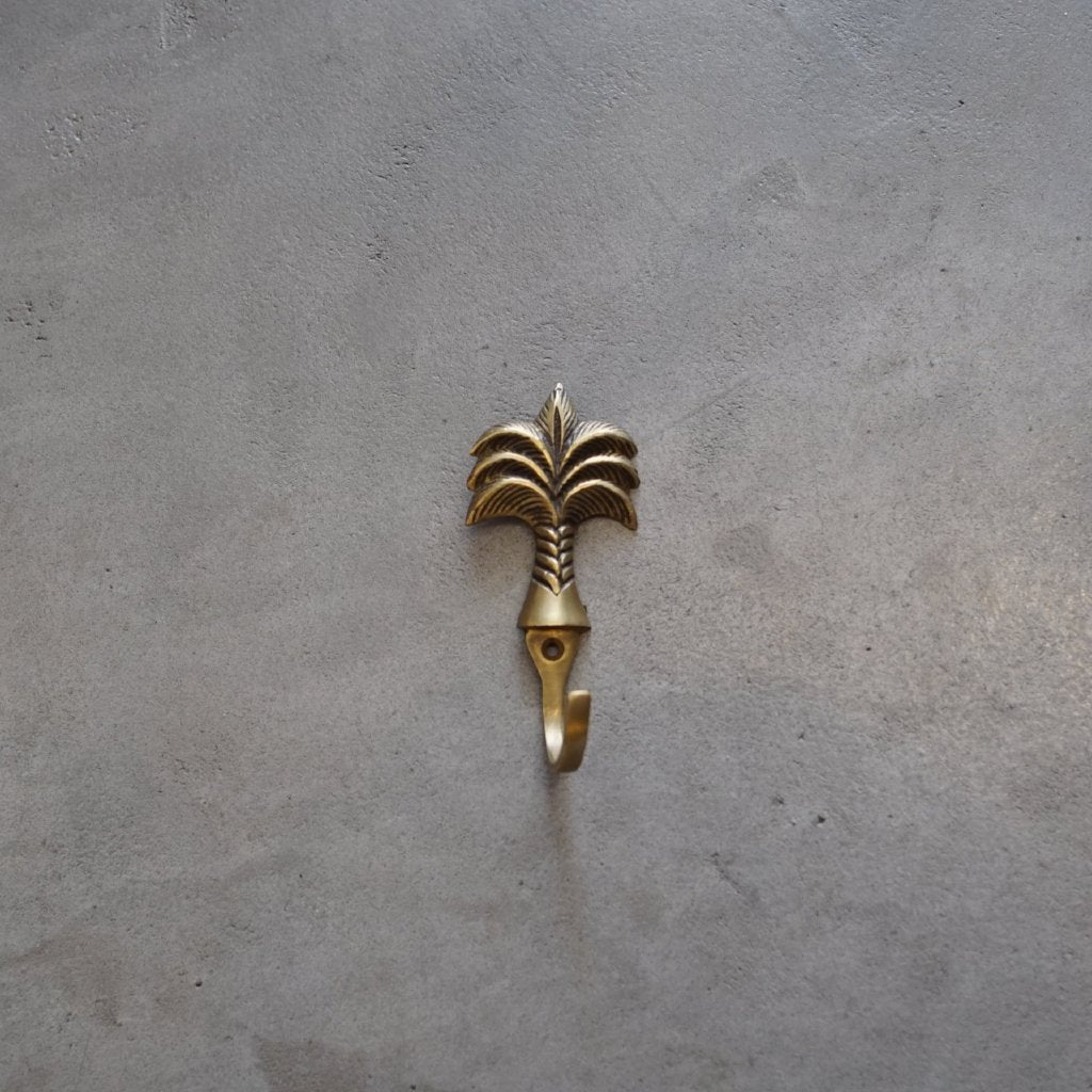 Palm brass hook