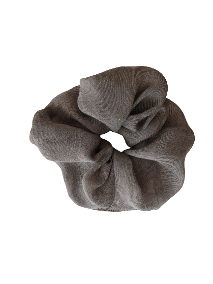 Linen washed - scrunchie