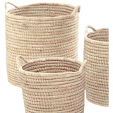 Basket with side handle