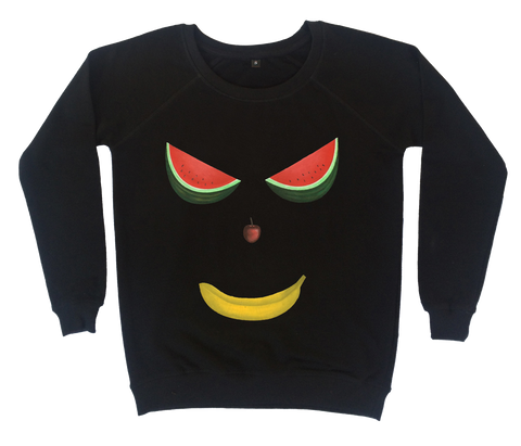 Demon Fruit Face Sweatshirt - Made to Order