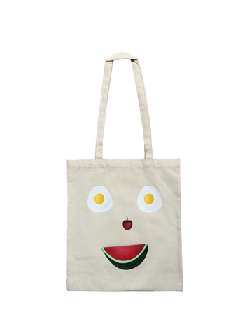 Happy Shopper Tote Bag