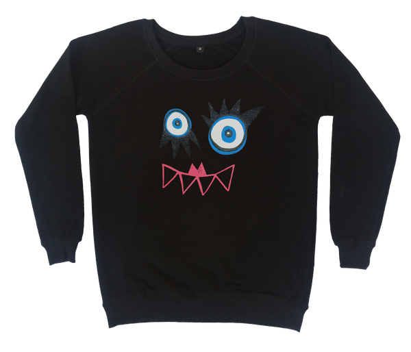 Glitter Monster Sweatshirt