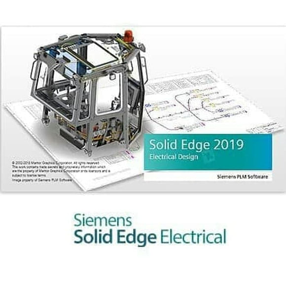 Solid Edge Electrical Routing Add-on Standalone Perpetual License with 1 Year Maintenance Plan + 1 Class Solid Edge Electrical Training
