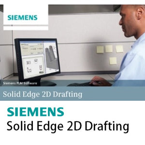 Solid Edge 2D Drafting - Perpetual License with 1 Year Maintenance Plan