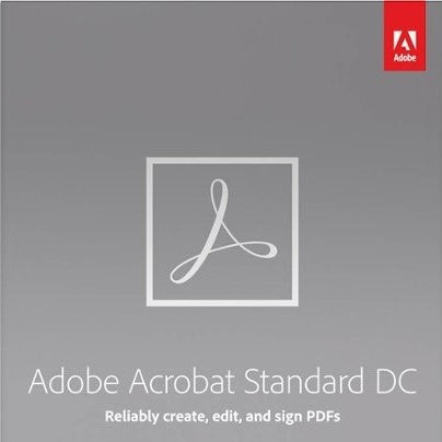 Adobe Acrobat Standard DC Annual Subscription
