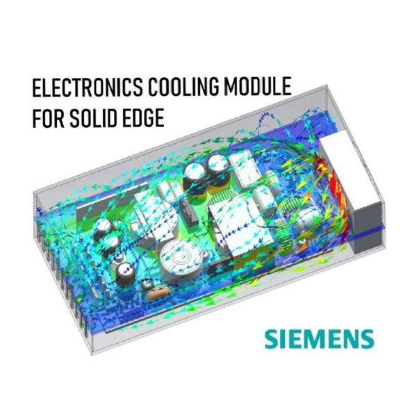 Electronics Cooling Module for Solid Edge with 1 Year Maintenance Plan  + 1 Class of Electronics Cooling Module Training