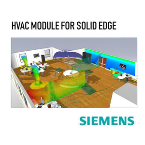 HVAC Module for Solid Edge with 1 Year Maintenance Plan + 1 Class of HVAC Module Training