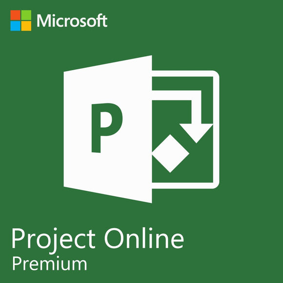 Microsoft Project Online Premium 1 Year Subscription