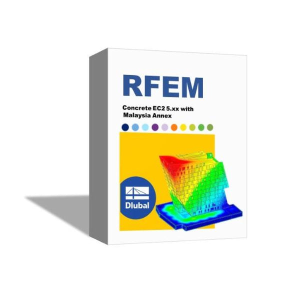 [Package] RFEM Concrete EC2 5.xx with Malaysia Annex - Single User