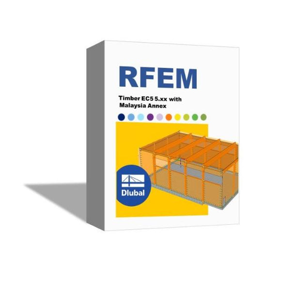 [Package] RFEM Timber EC5 5.xx with Malaysia Annex- Single User