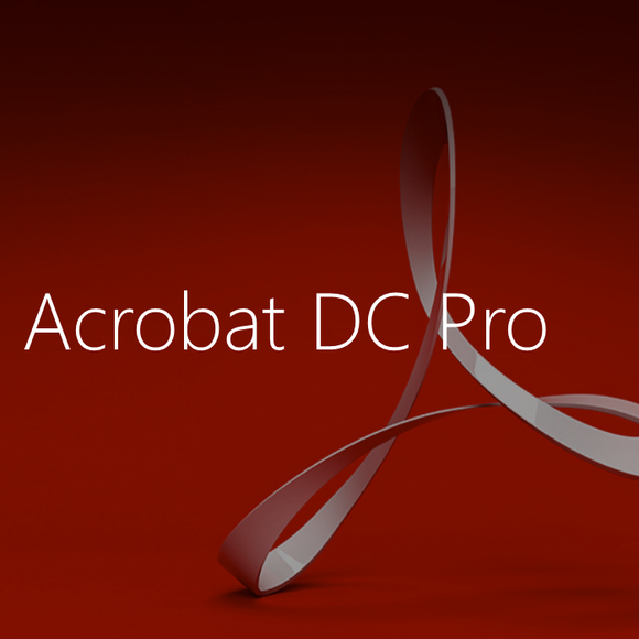 Adobe Acrobat Pro DC Annual Subscription