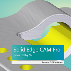 Solid Edge + CAM Pro 3-Axis Milling with 1 Year Maintenance Plan + 1 Class of CAM Pro Training