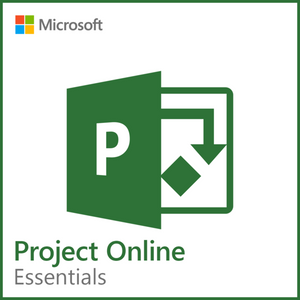 Microsoft Project Online Essentials 1 Year Subscription