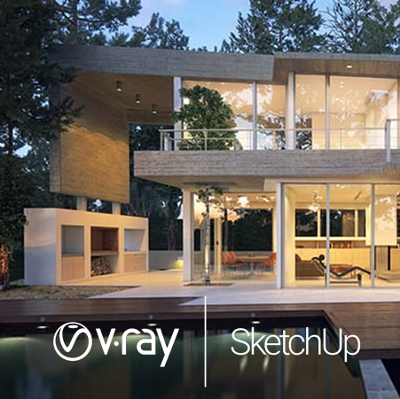 V-Ray 5 for SketchUp Workstation License