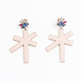BROOKLYN boucles d'oreille nude