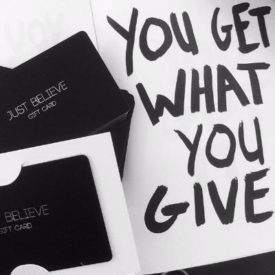 Gift Card - Just Believe Jewelry
